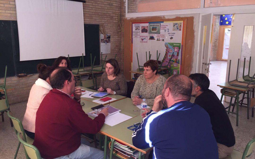 El profesorado en equipos de trabajo para la mejora del colegio