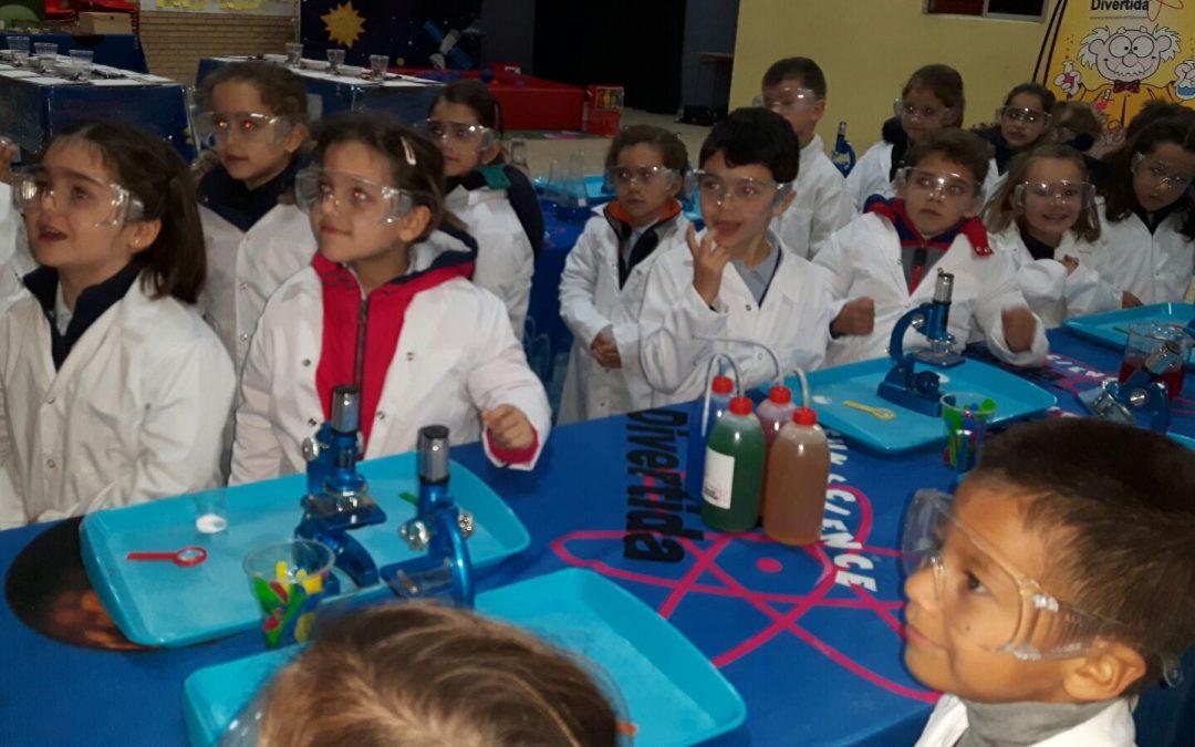 ¡Nos convertimos en científicos!
