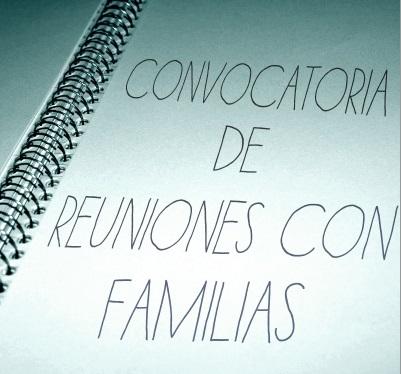 Reuniones iniciales familias 16/17