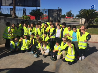Los alumnos de 4º de EP visitan LIPASAM