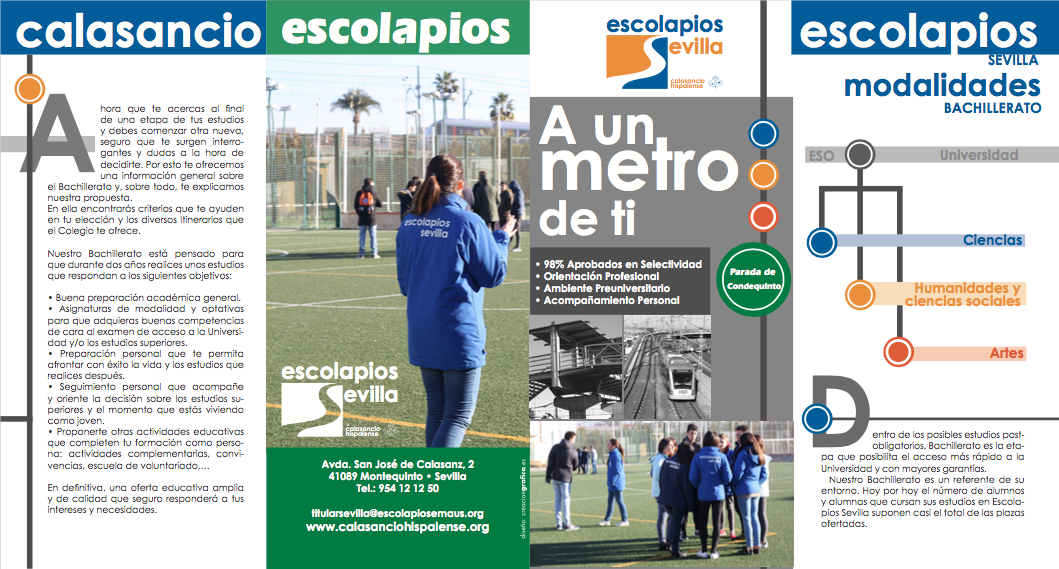 Escolarización 1º Bachillerato 2017-18