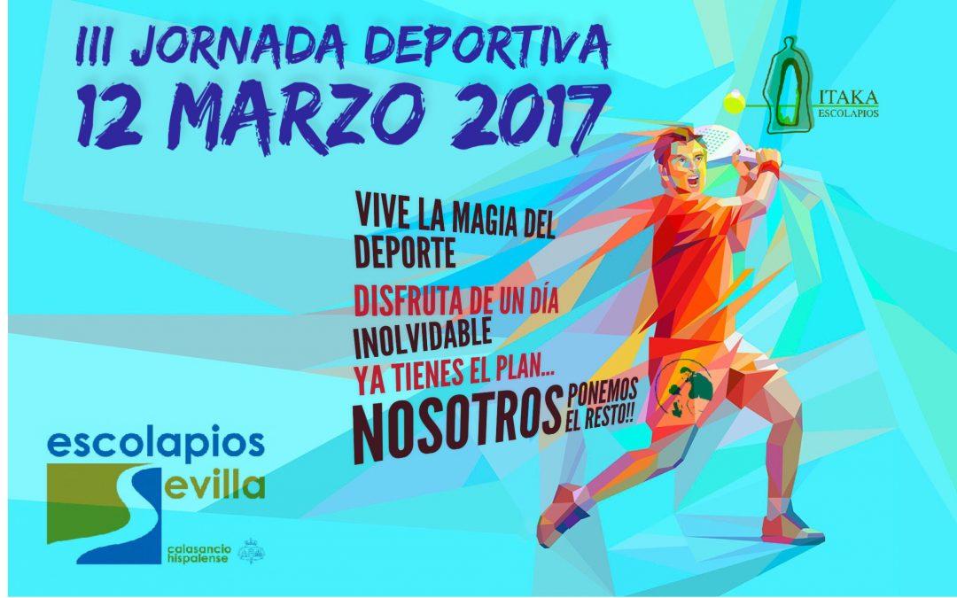 12 de marzo – III Jornada Deportiva Escolapios Sevilla
