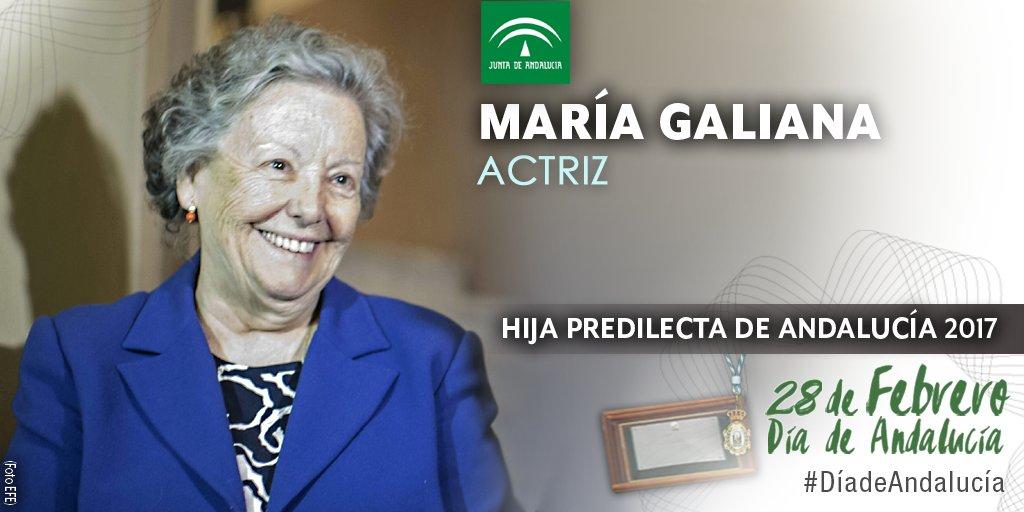 La hija predilecta, María Galiana.