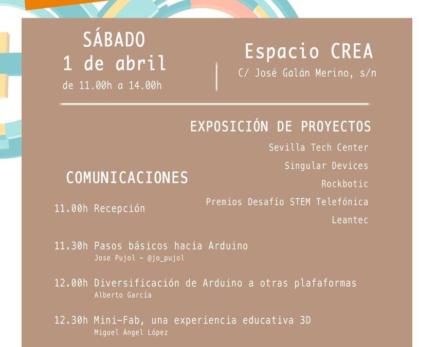 Escolapios Sevilla en el Arduino Day