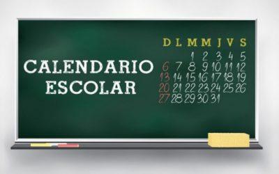 Actualización Calendario Escolar 17/18