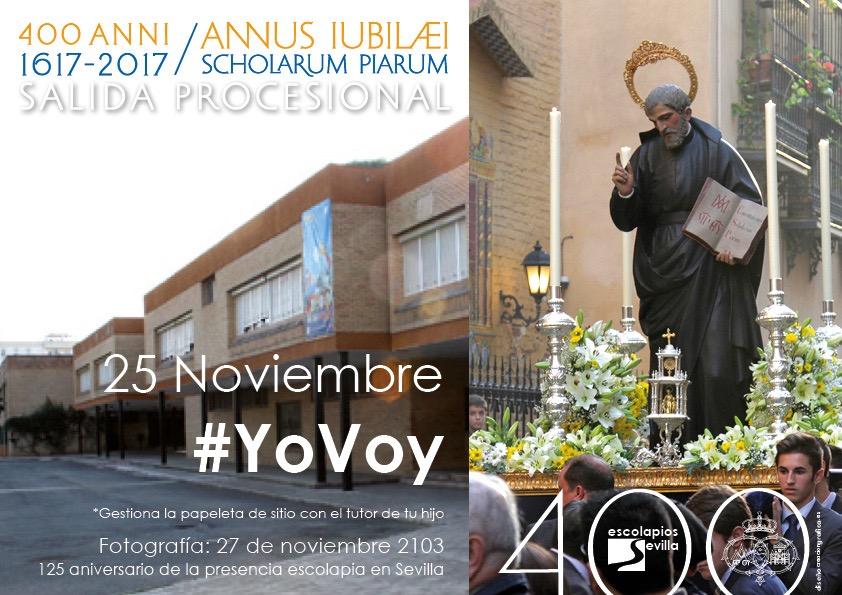 b008e0f27f650 Cambio del horario de la procesión - Colegio Calasancio Hispalense