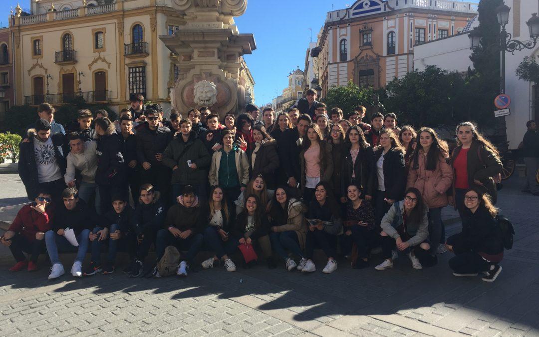 4º de ESO visita Sevilla