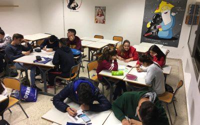 Bachillerato trabaja la festividad de Todos los Santos